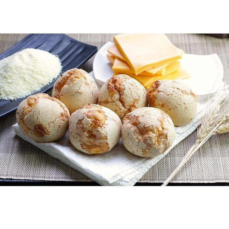 【美食村食品】Q匠麵包球(起司)440g(8入)/盒*24盒