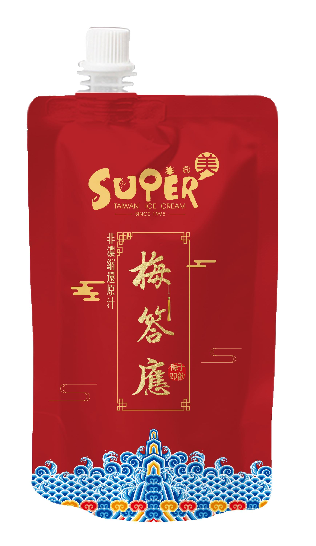【超級美 Supermei】梅答應-梅子汁 130ml*24包