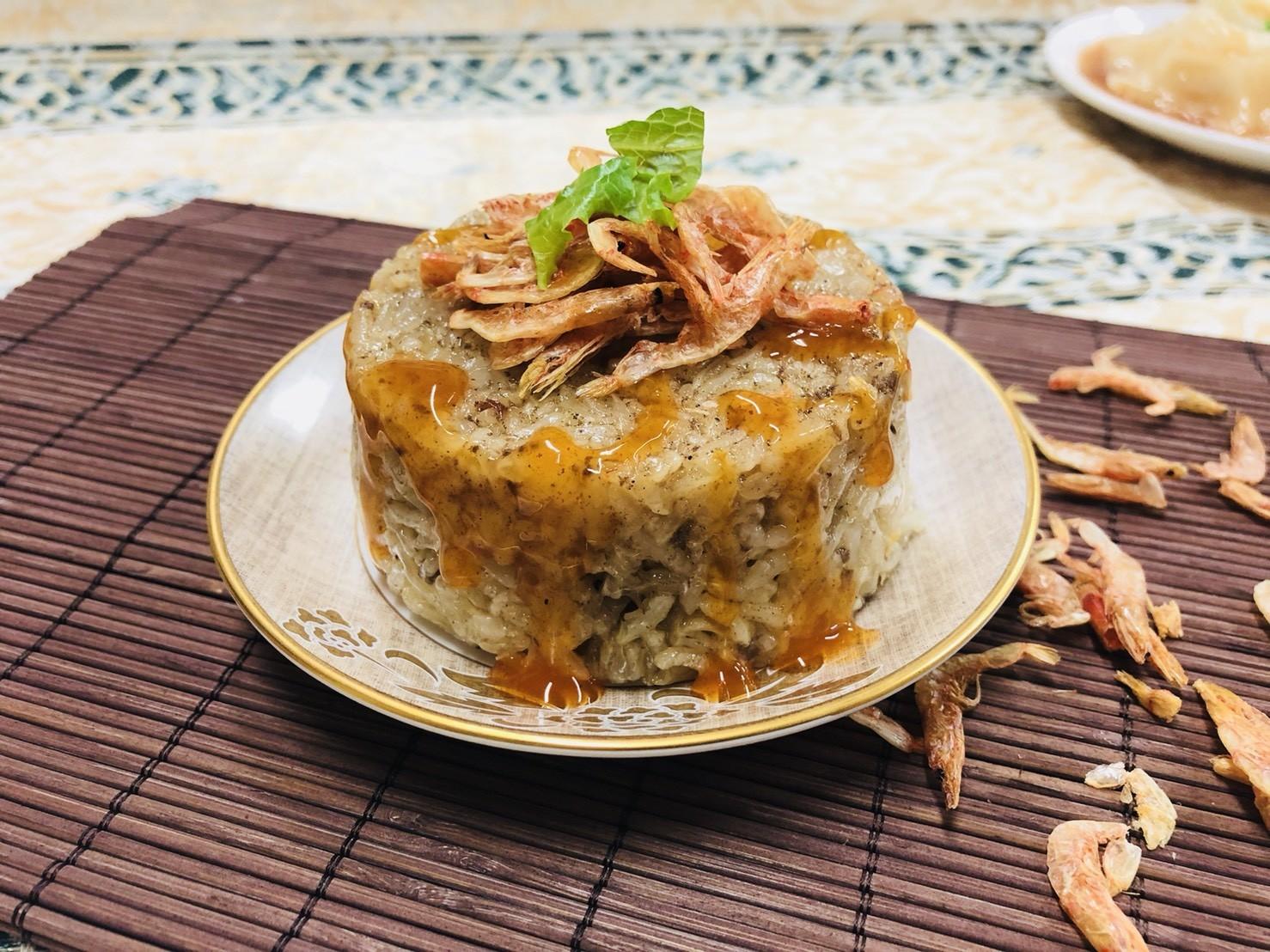 【蒸健康】25包櫻花蝦米糕 (150g*4顆*25包)