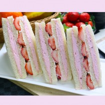 【美食村】草莓三明治36入