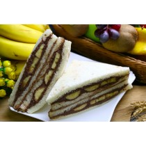 【美食村】香蕉可可三明治 165g*12入